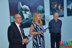 Wernisaż wystawy malarstwa Ryszarda Kamińskiego