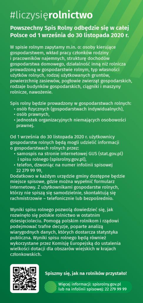 Spis rolny 2020