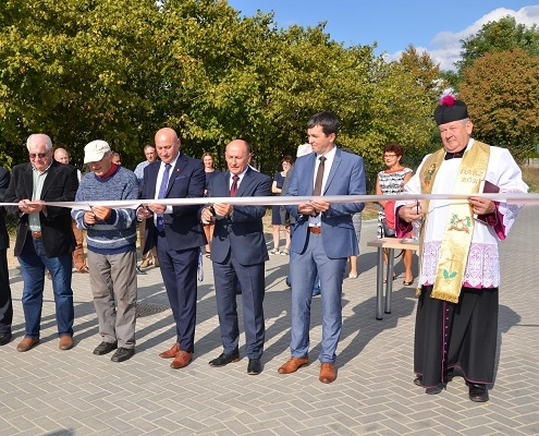 Otwarcie ulic Cichej i Jana Łosowicza
