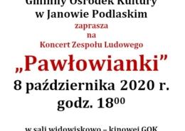 Koncert Zespołu Pawłowianki