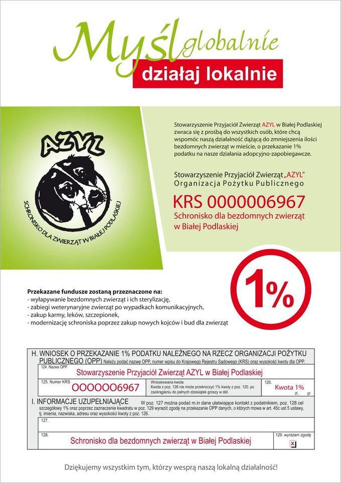 Azyl wsparcie 1%
