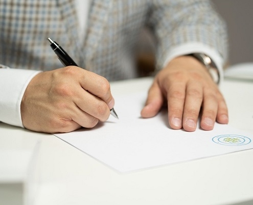 Informacja dot. własnoręczności podpis u