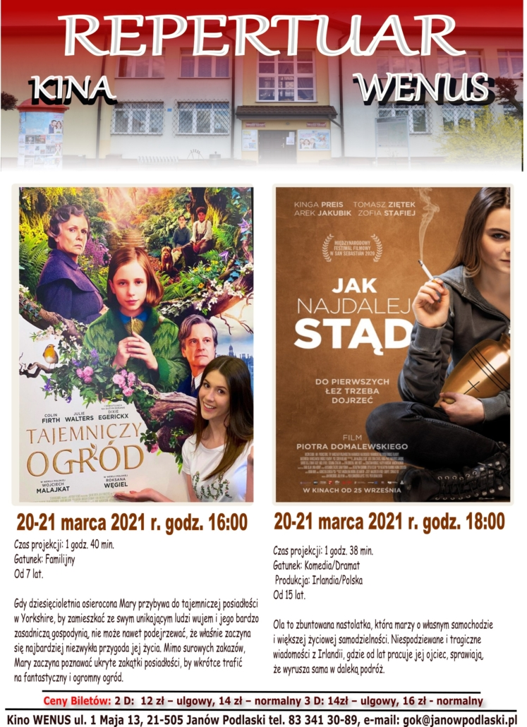 Plakat kino 2021.03.2021