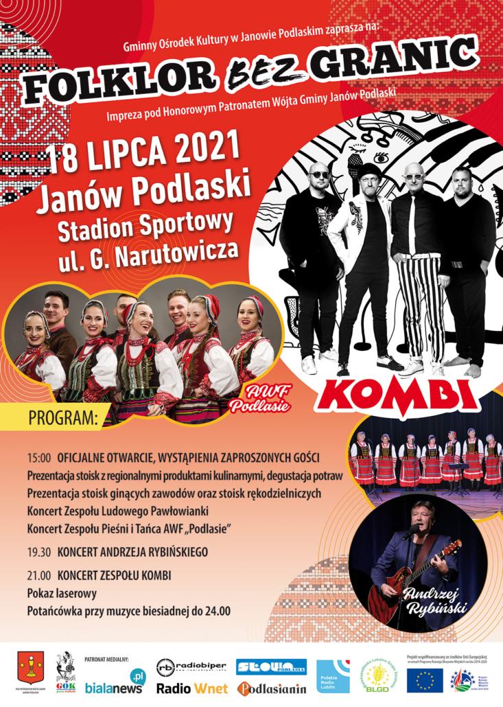 JanowPodlaski_Plakat folklor bez granic