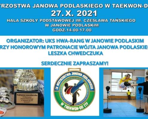 Mistrzostwa Janowa Podlaskiego w Tekwon-do
