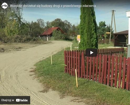Budowa drogi w Woroblinie